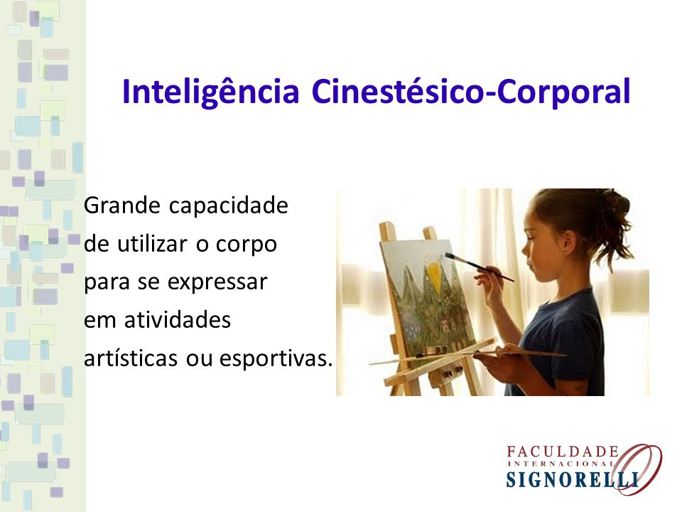 Inteligência Cinestésico-Corporal