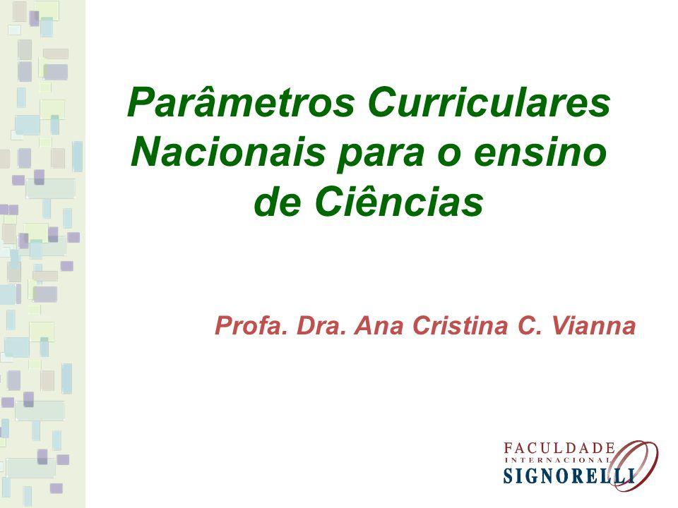 Parâmetros Curriculares Nacionais para o ensino de Ciências