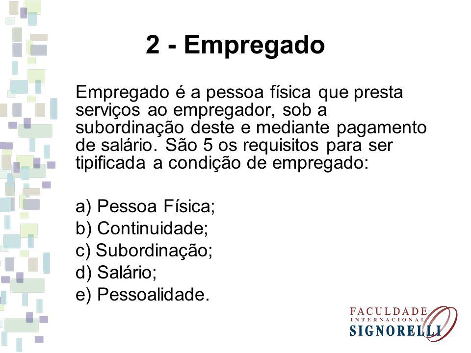 2 - Empregado
