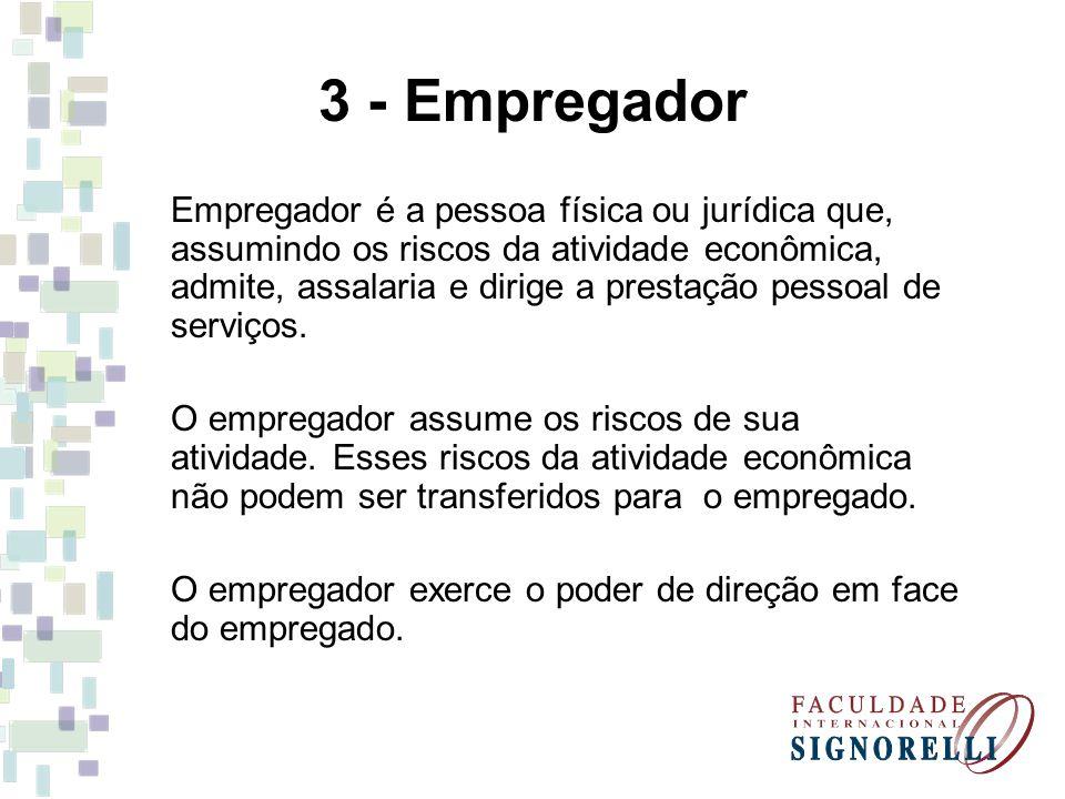 3 - Empregador