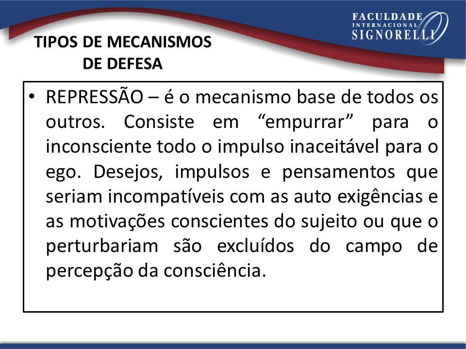TIPOS DE MECANISMOS DE DEFESA