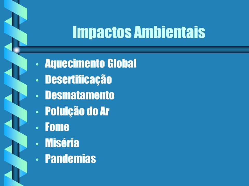 Impactos Ambientais Aquecimento Global Desertificação Desmatamento