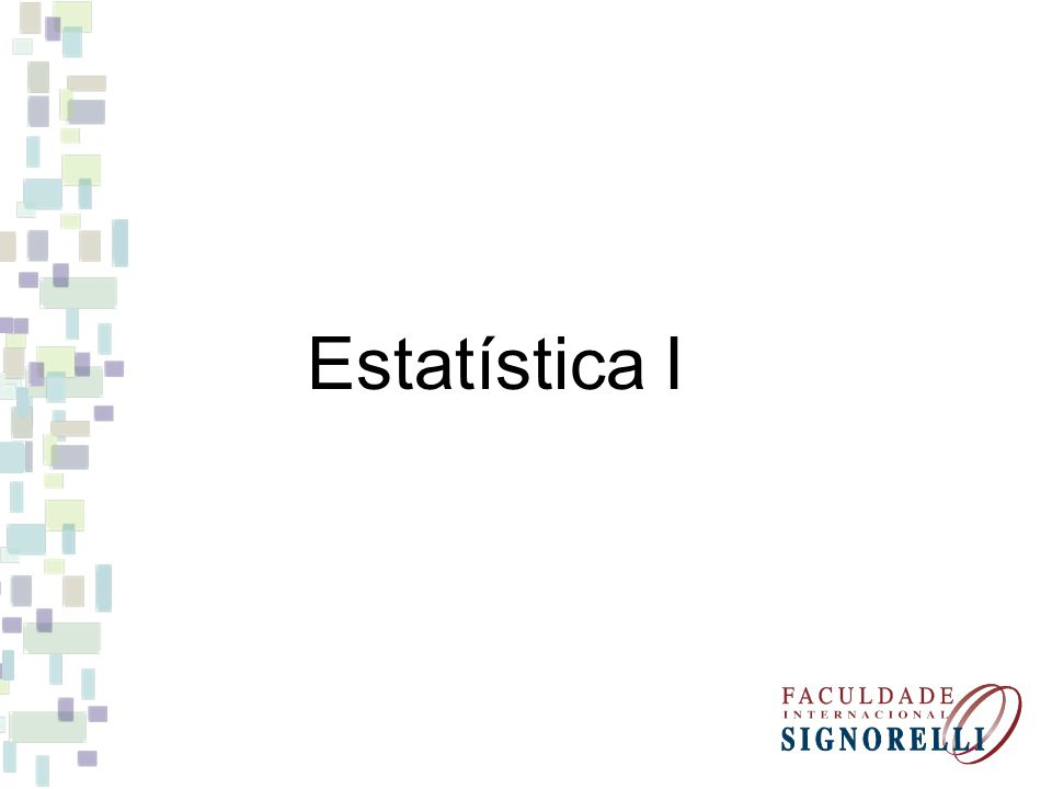 Estatística I