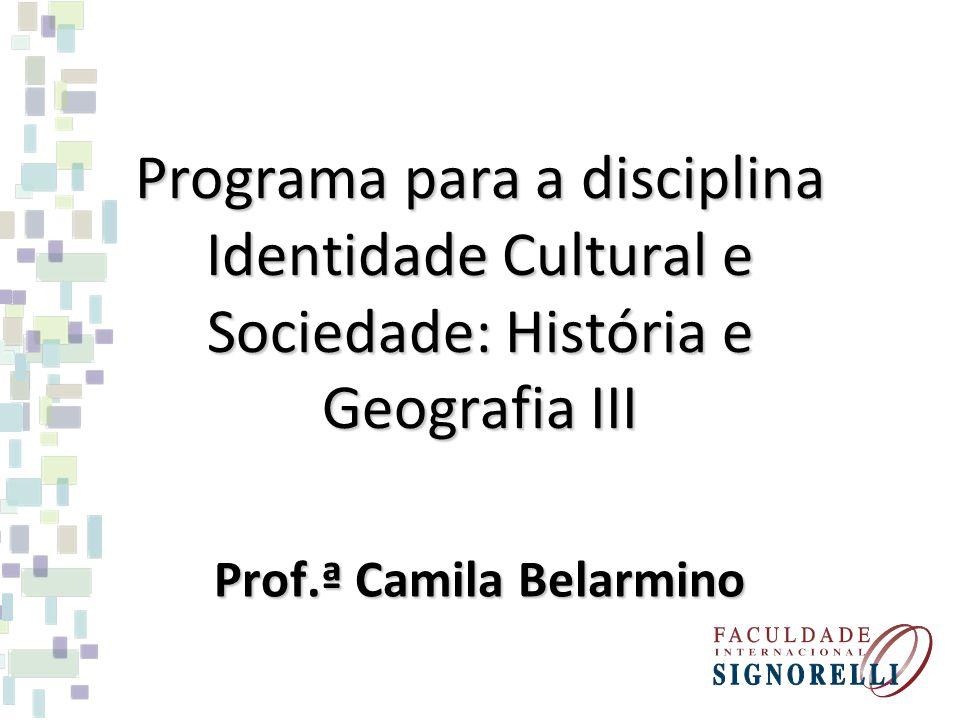 Prof.ª Camila Belarmino