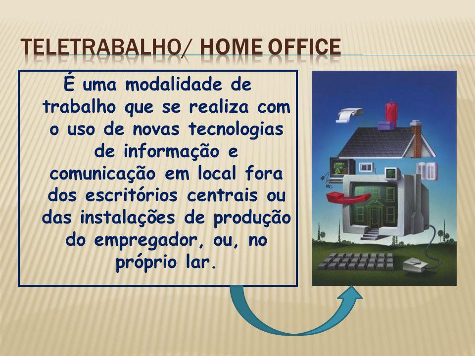 TELETRABALHO/ Home office