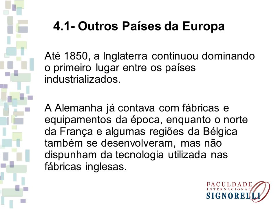 4.1- Outros Países da Europa