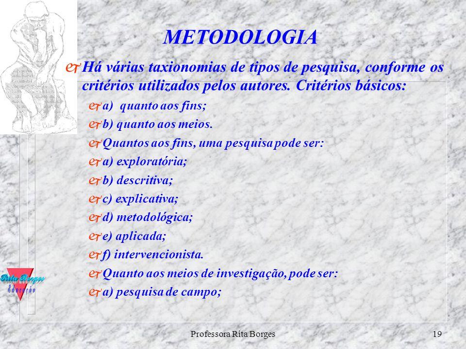 Professora Rita Borges