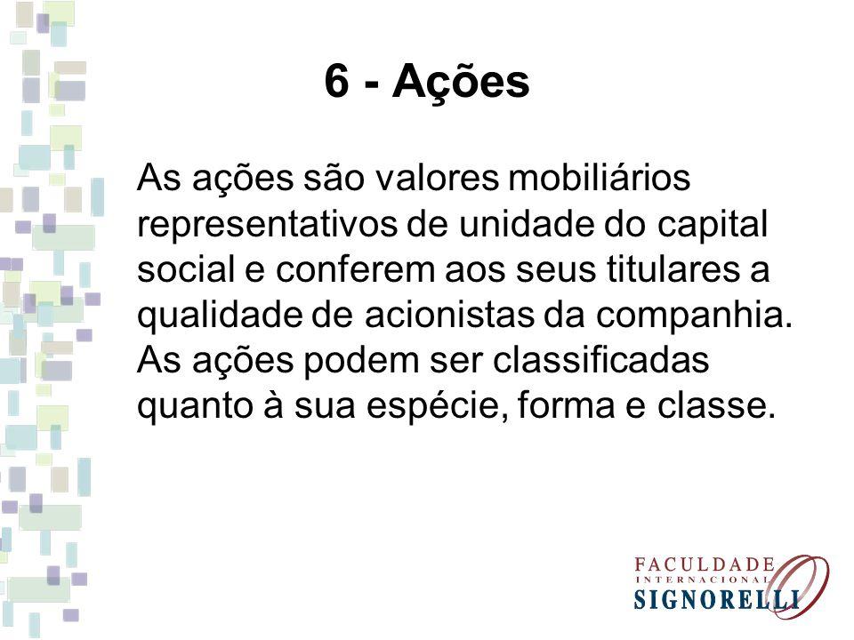 6 - Ações