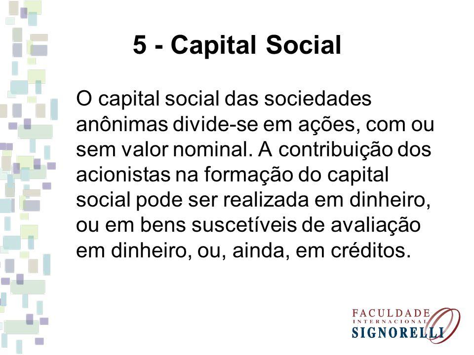 5 - Capital Social