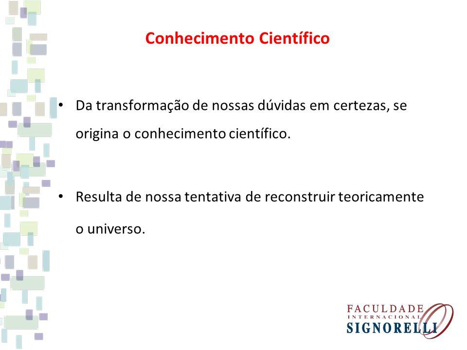 Conhecimento Científico