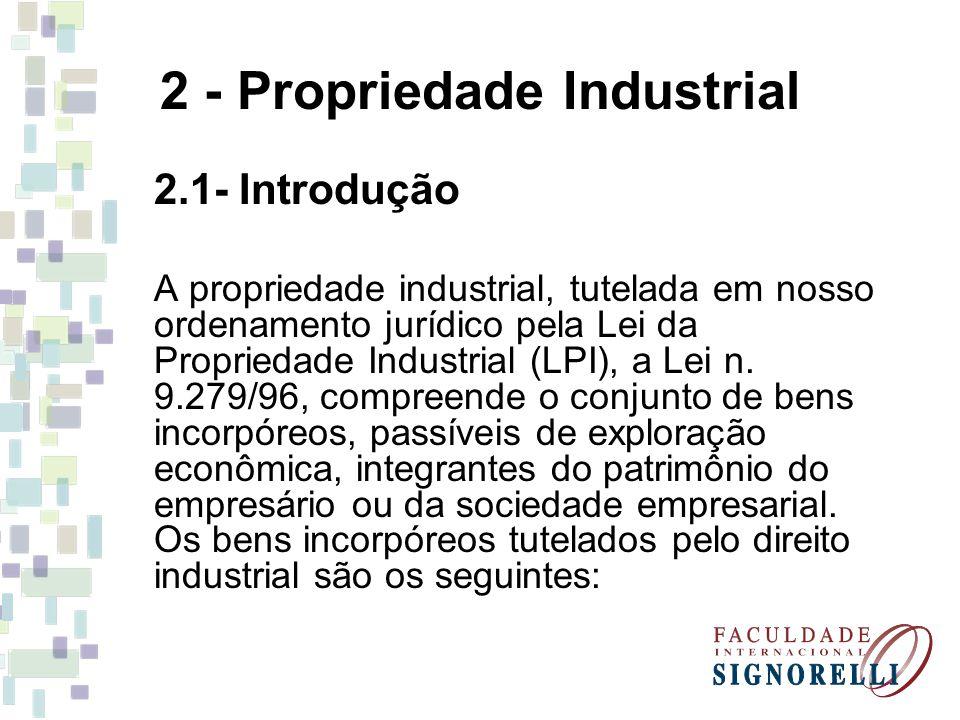 2 - Propriedade Industrial