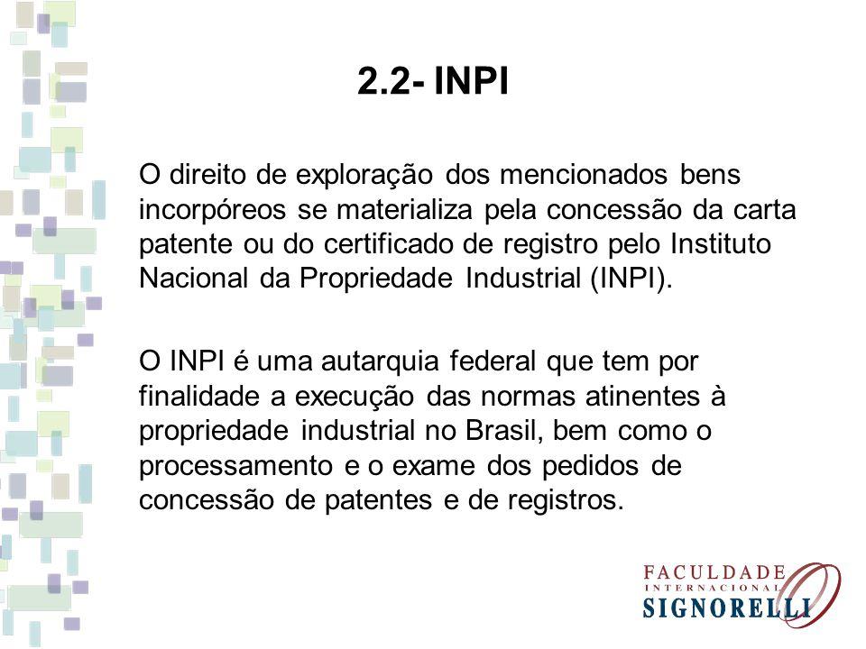 2.2- INPI