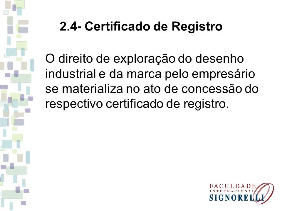 2.4- Certificado de Registro