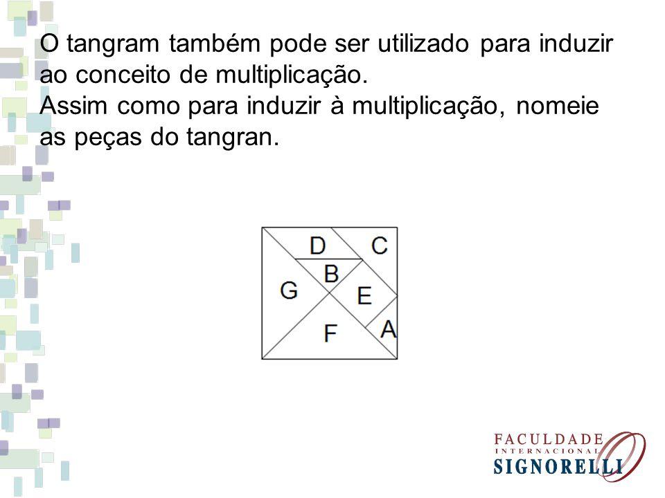 O tangram também pode ser utilizado para induzir
