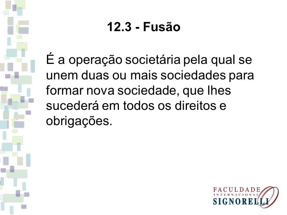 12.3 - Fusão