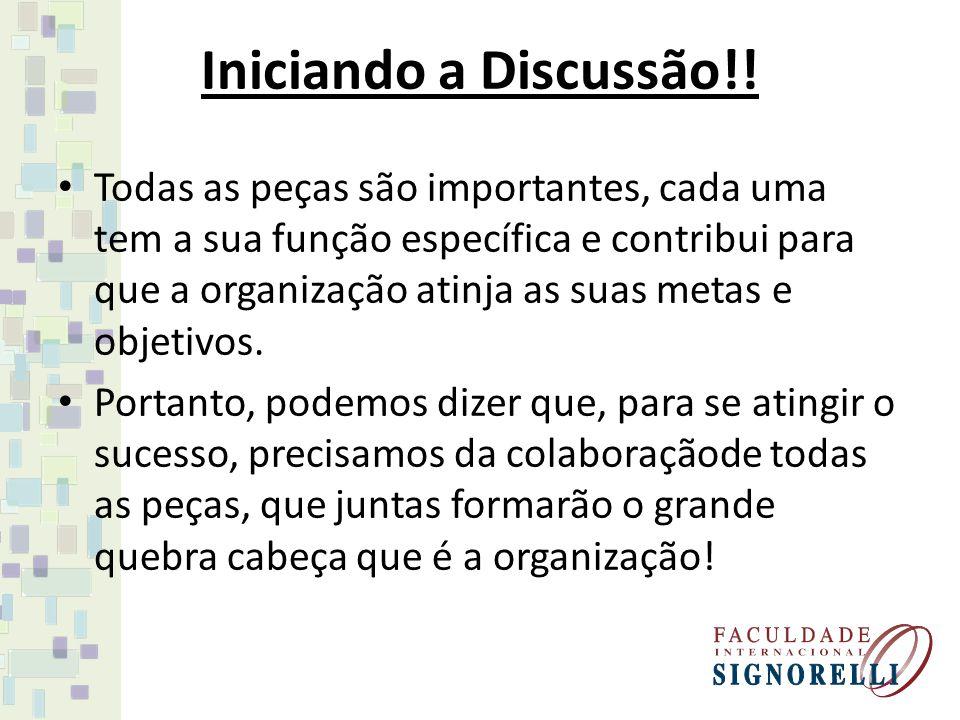 Iniciando a Discussão!!