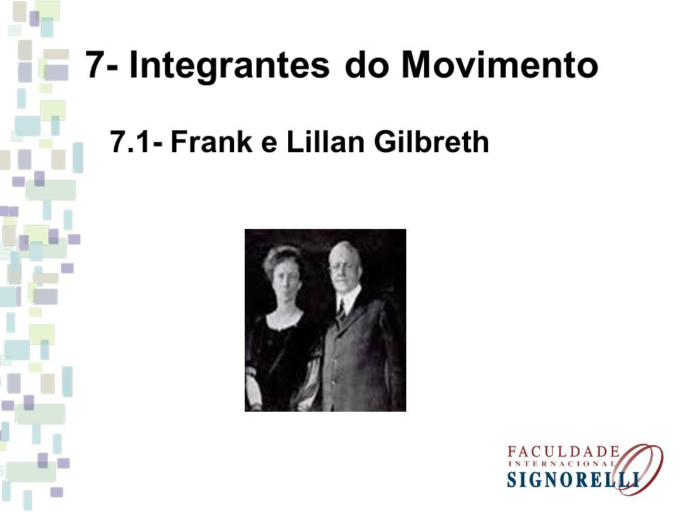 7- Integrantes do Movimento