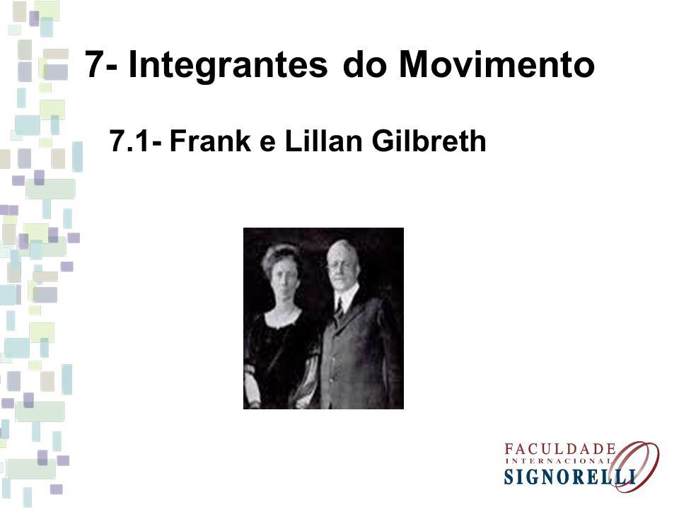 7- Integrantes do Movimento