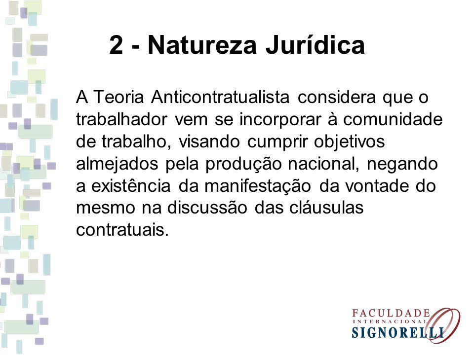 2 - Natureza Jurídica