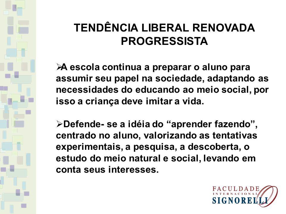 TENDÊNCIA LIBERAL RENOVADA PROGRESSISTA