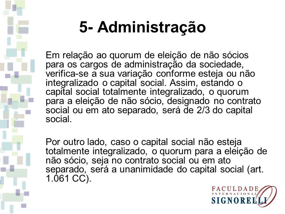 5- Administração