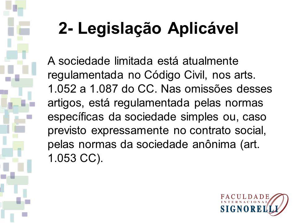 2- Legislação Aplicável