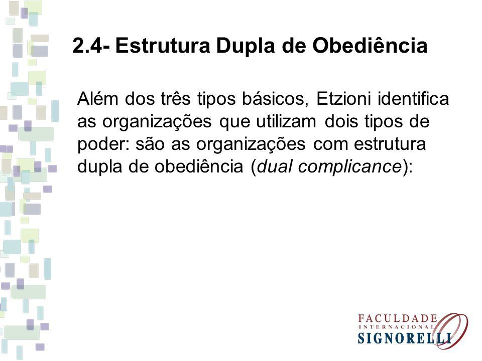 2.4- Estrutura Dupla de Obediência