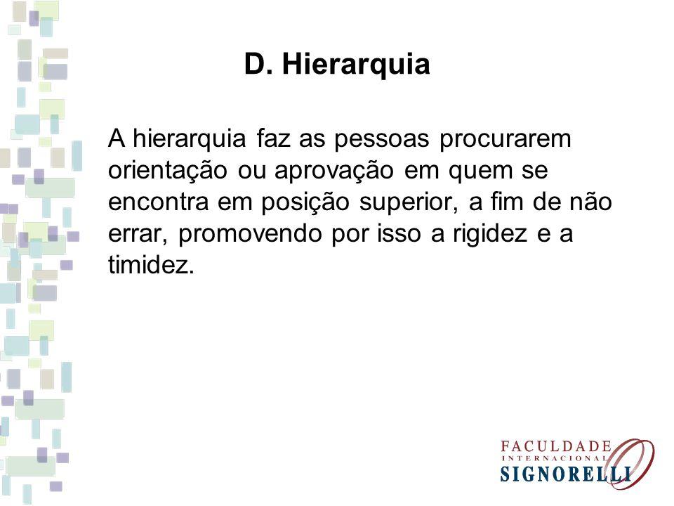 D. Hierarquia