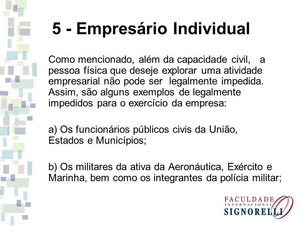 5 - Empresário Individual