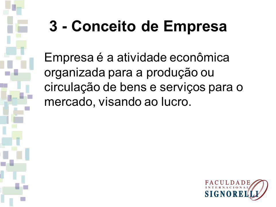3 - Conceito de Empresa