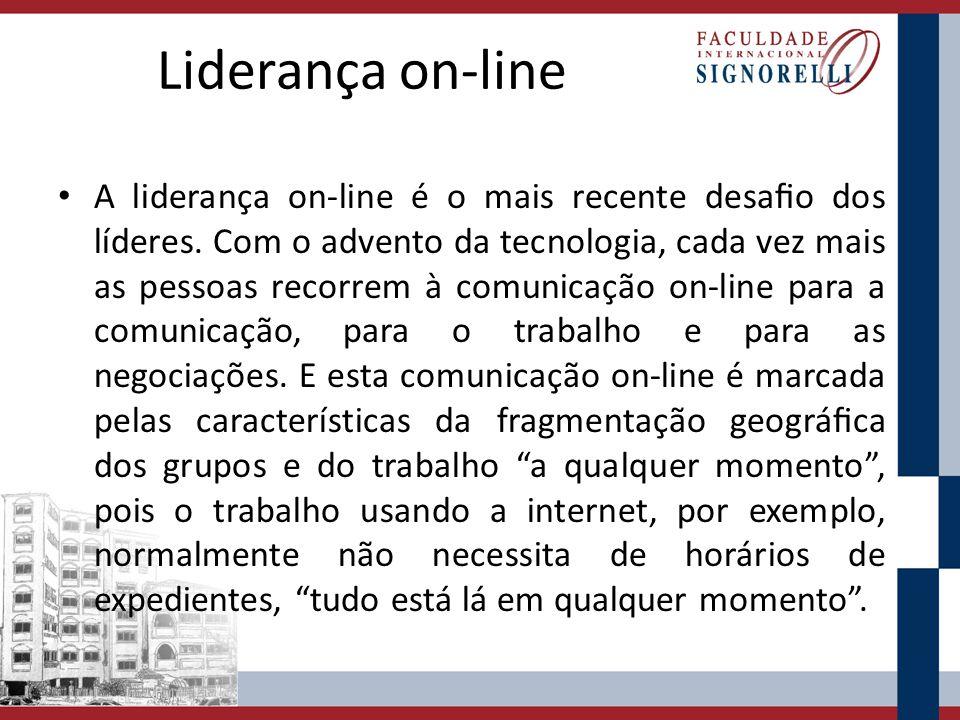Liderança on-line