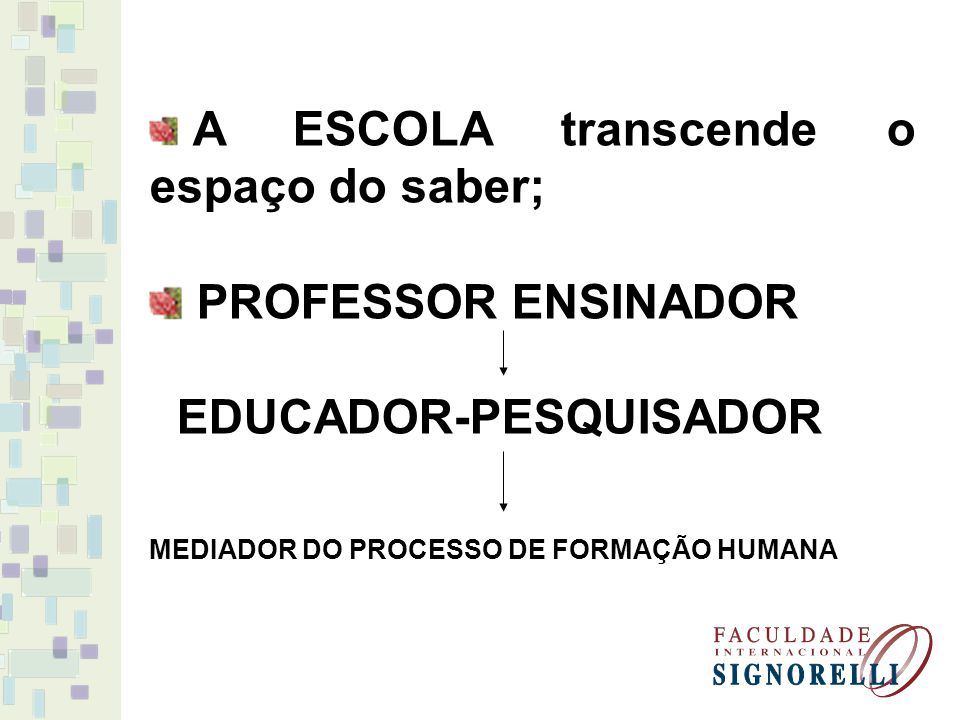 EDUCADOR-PESQUISADOR