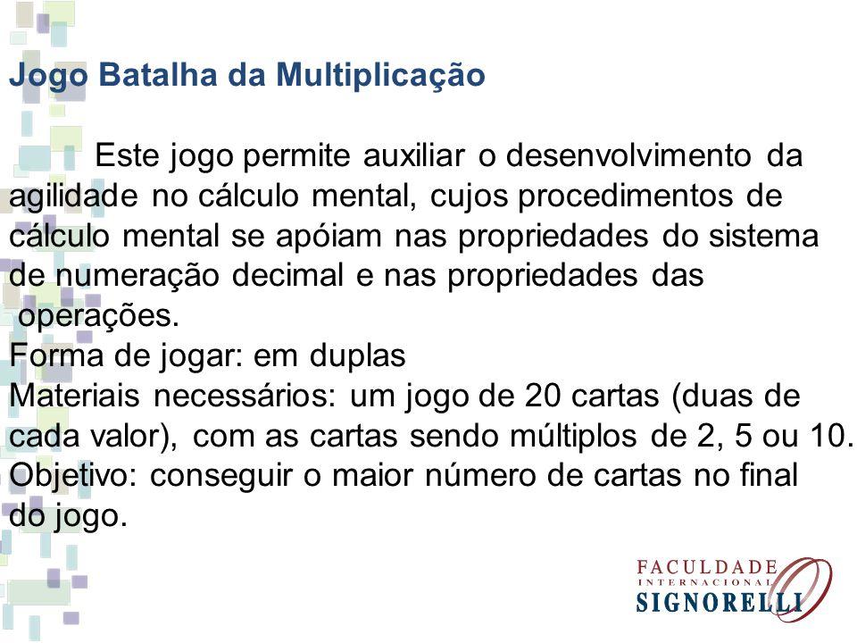 Jogo Batalha da Multiplicação
