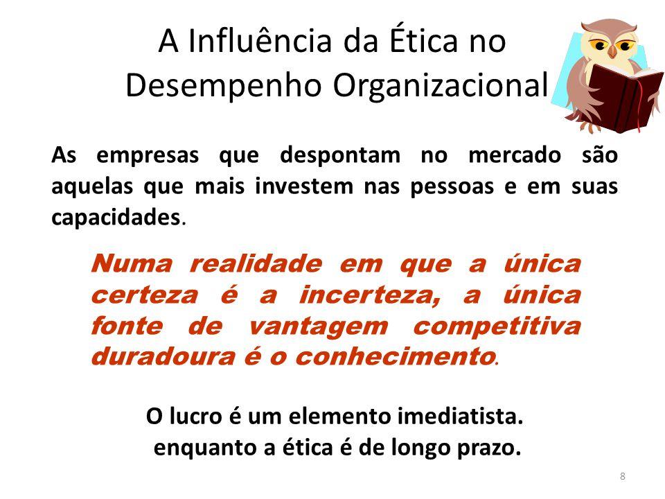 A Influência da Ética no Desempenho Organizacional