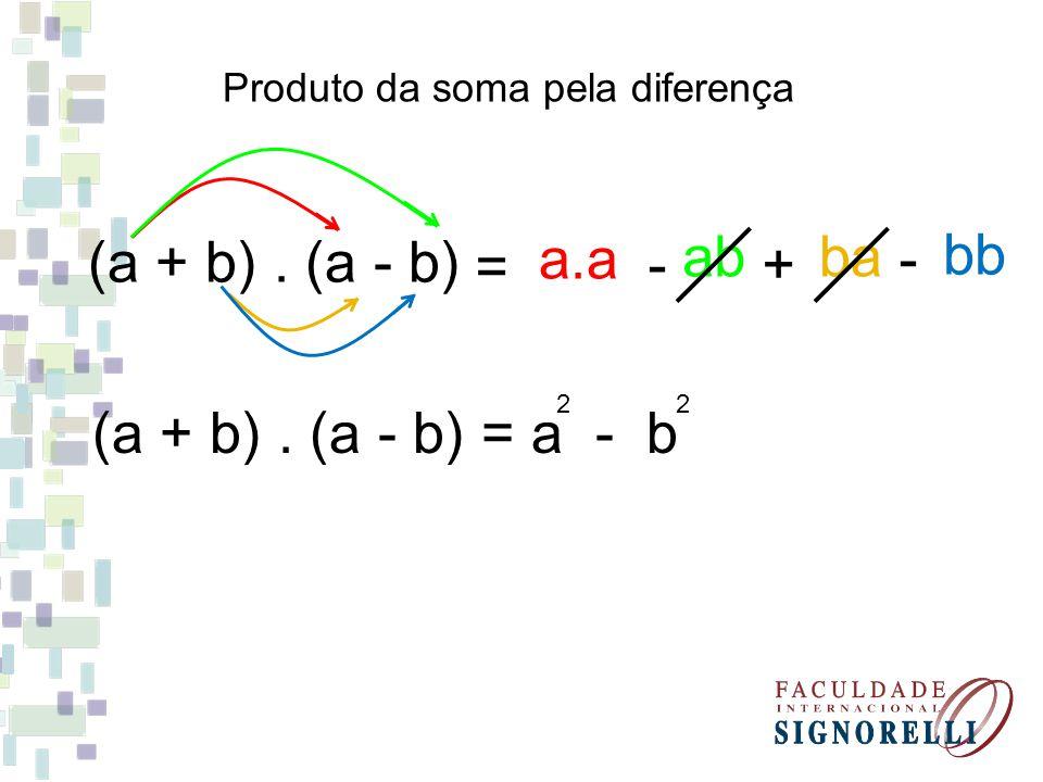 a.a bb (a + b) . (a - b) ab ba = - + - (a + b) . (a - b) = a - b