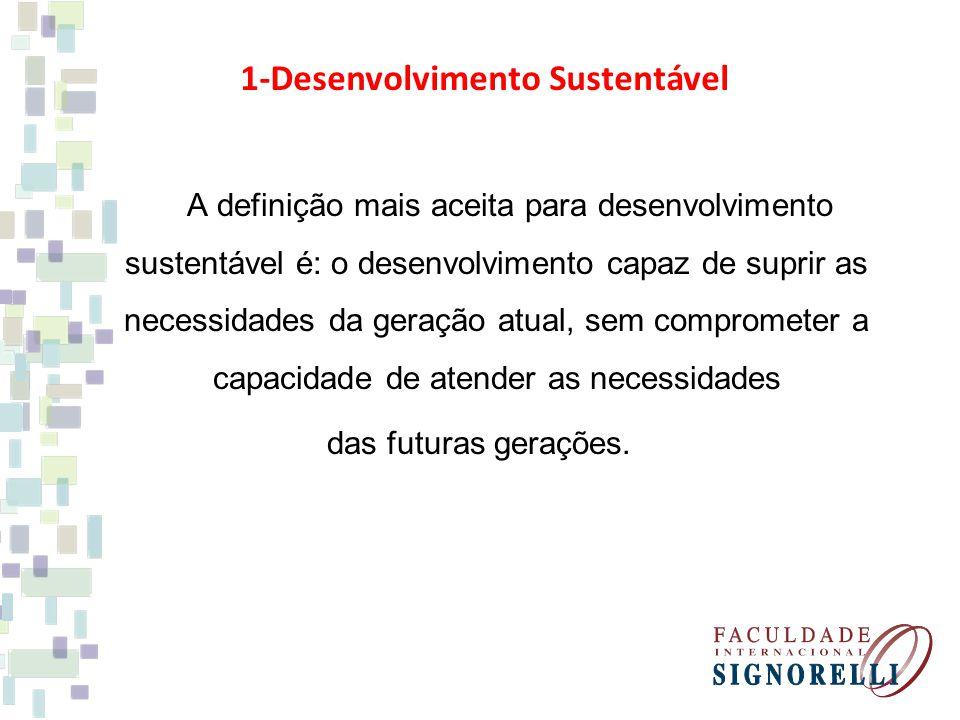 1-Desenvolvimento Sustentável