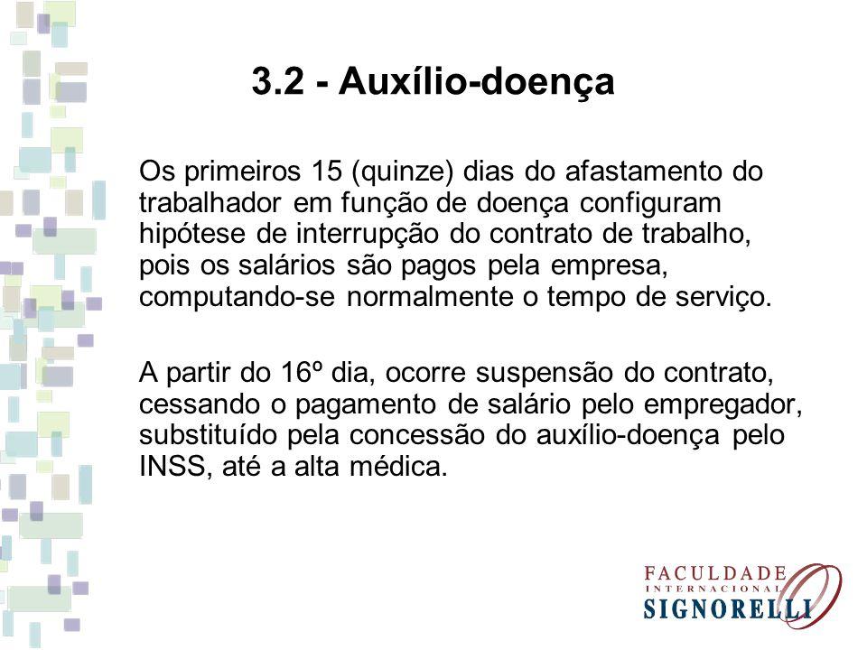 3.2 - Auxílio-doença