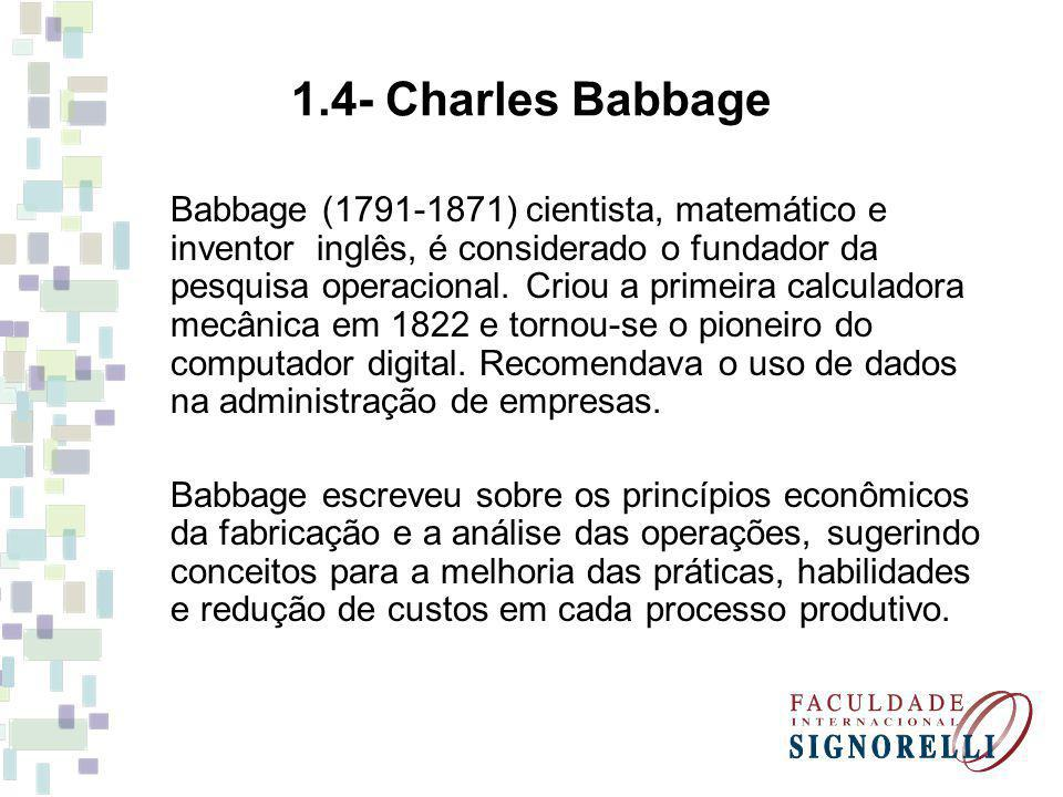 1.4- Charles Babbage