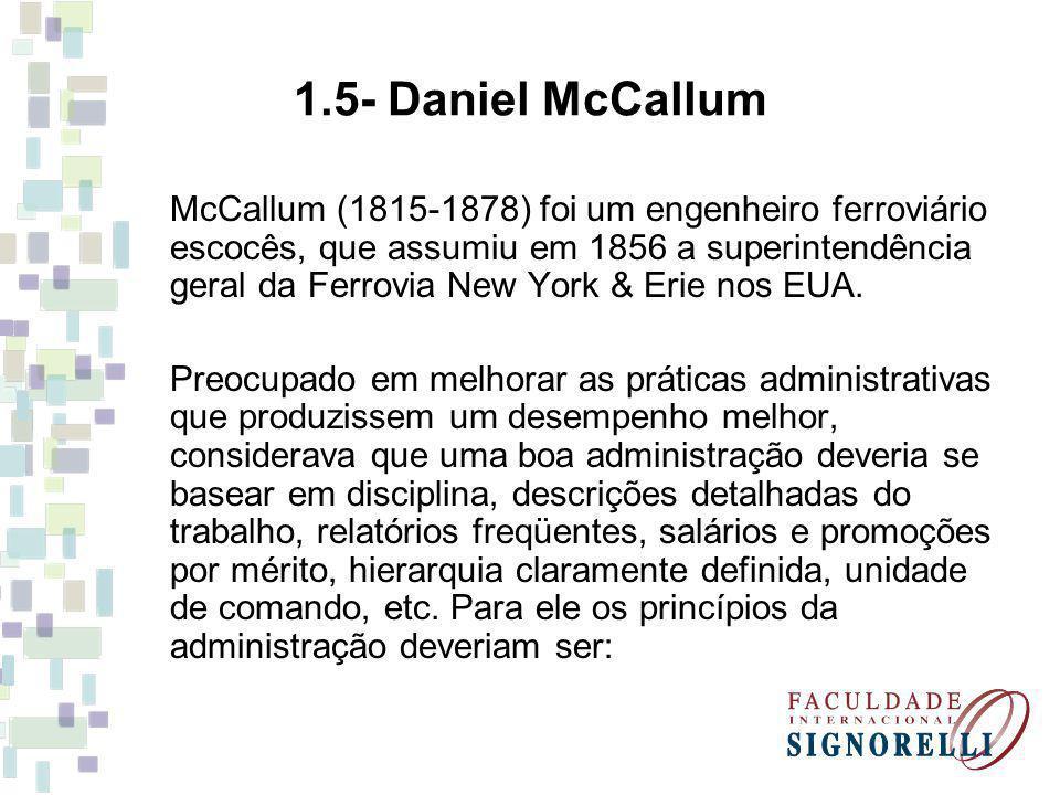 1.5- Daniel McCallum