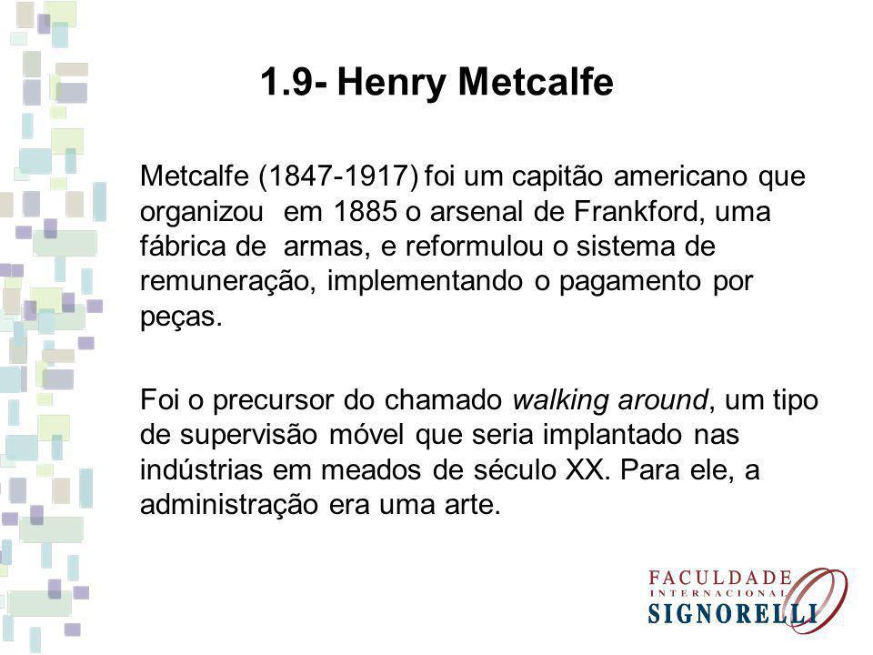 1.9- Henry Metcalfe