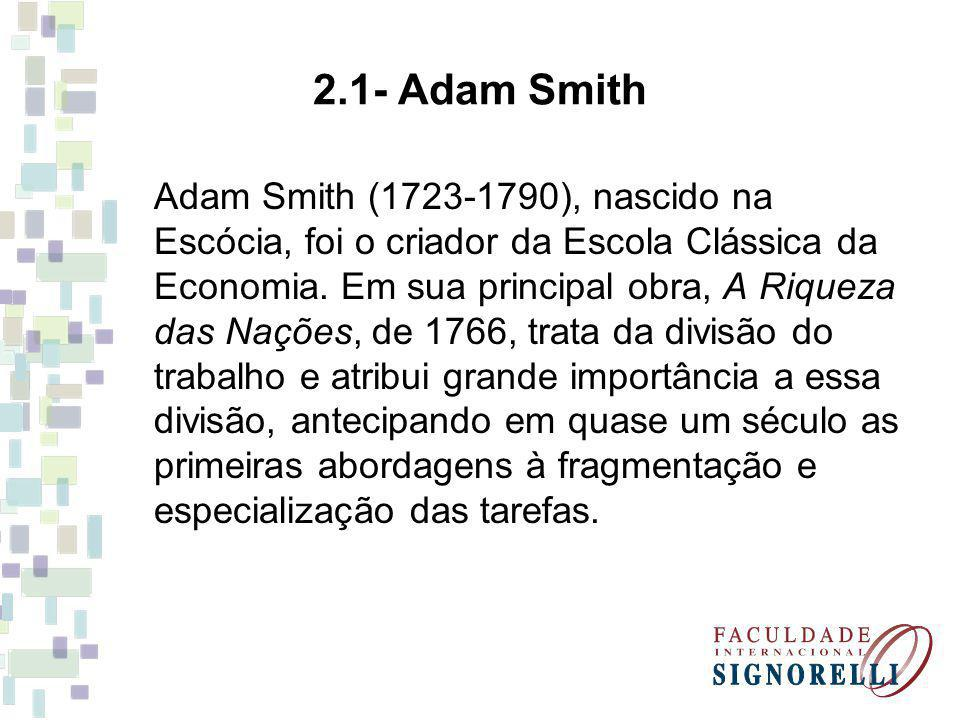 2.1- Adam Smith