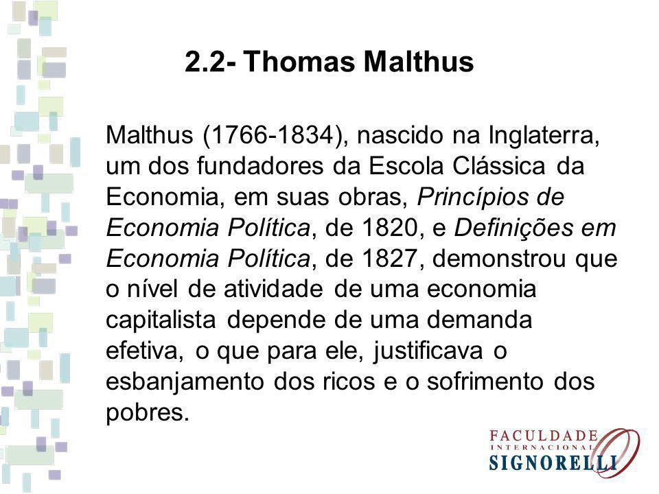 2.2- Thomas Malthus