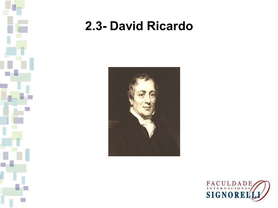 2.3- David Ricardo