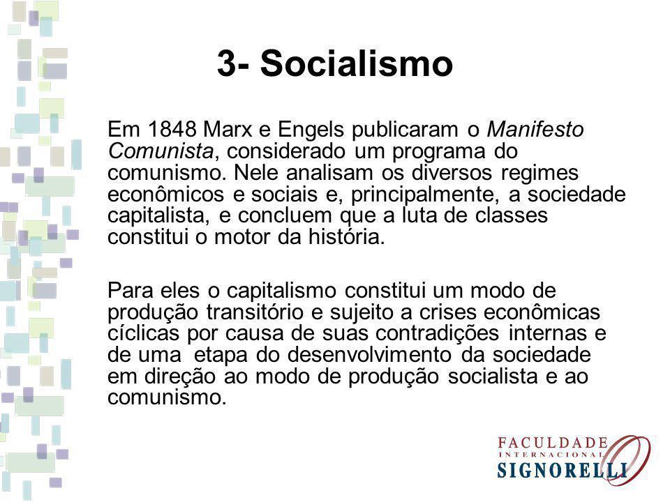 3- Socialismo