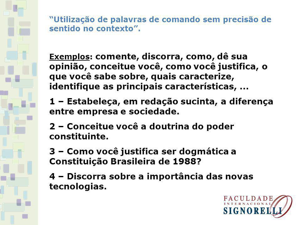 2 – Conceitue você a doutrina do poder constituinte.