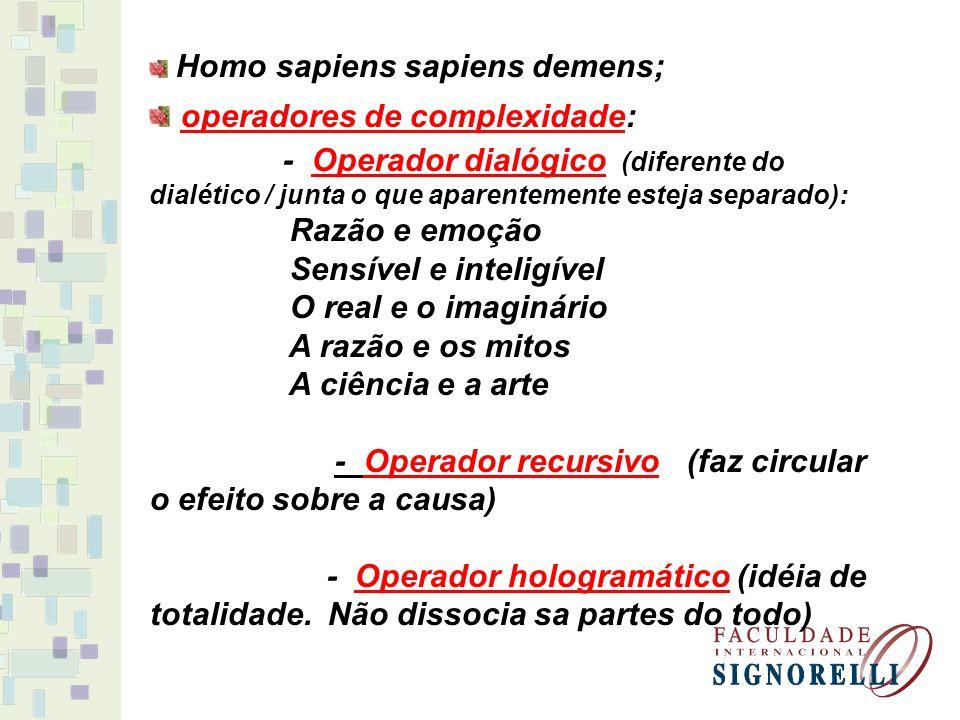operadores de complexidade:
