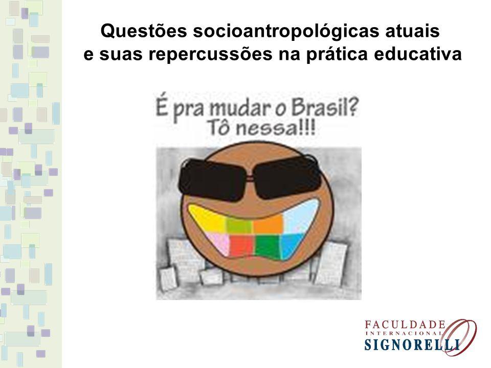 Questões socioantropológicas atuais