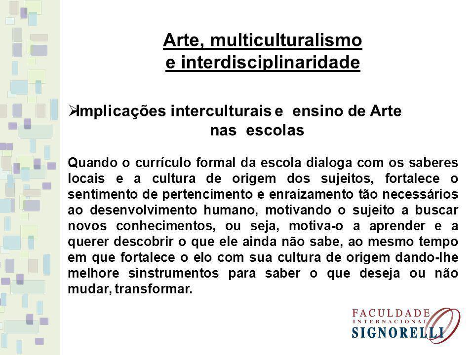 Arte, multiculturalismo