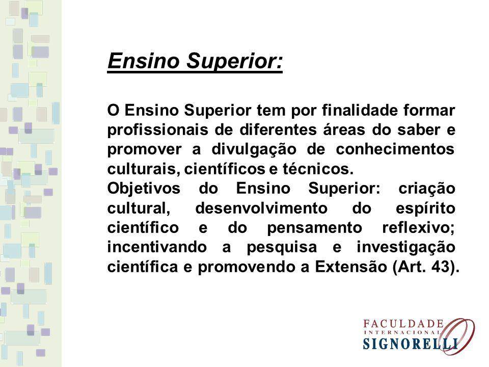Ensino Superior: