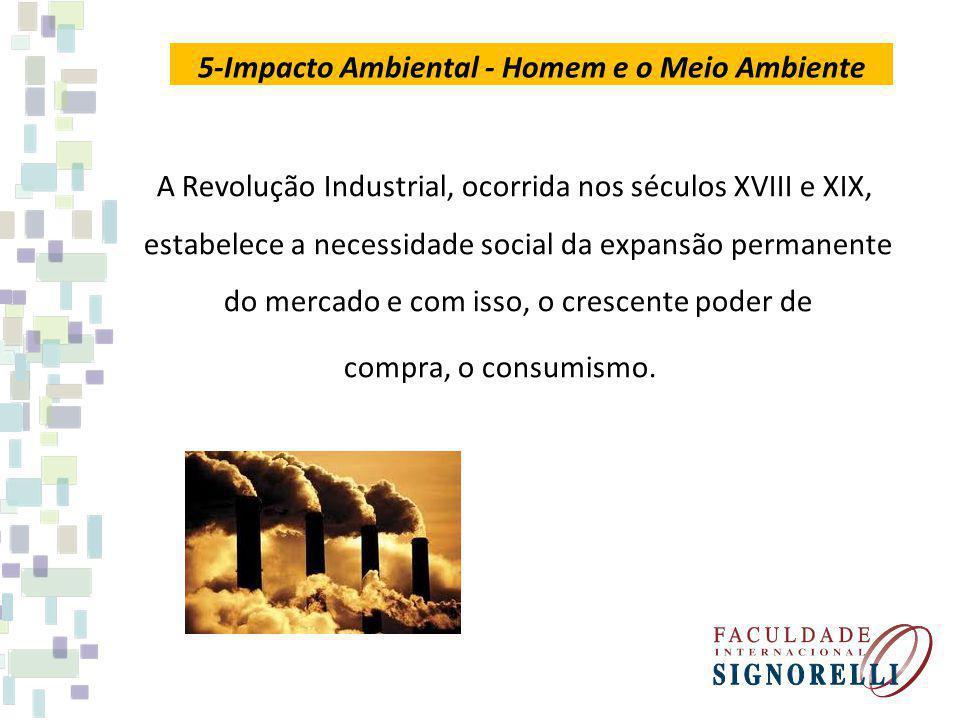 5-Impacto Ambiental - Homem e o Meio Ambiente
